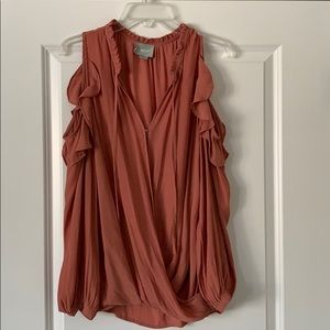 Anthropology Maeve top. Sz.L Mauve color L/S
